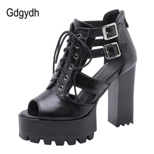 Gdgydh Extrme High Heels Sandals Women Gladiator Sh