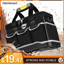 Narzędzie wielofunkcyjne torba o dużej pojemności zagęścić profesjonalne narzędzia do naprawy torba 13/16/ 18/20 Toolkit Bag