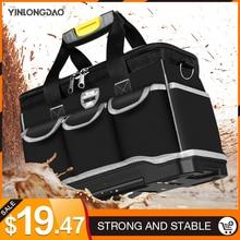 เครื่องมือมัลติฟังก์ชั่นกระเป๋าขนาดใหญ่ความจุThicken Professionalเครื่องมือซ่อมกระเป๋า13/16/ 18/20กระเป๋าเครื่องมือ