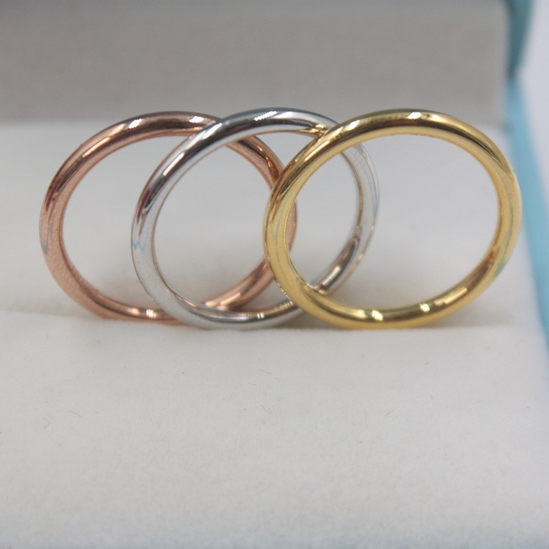1 pièces pur solide 18k jaune/Rose/blanc bague en or femmes chance pleine étoile bague 0.7-1g