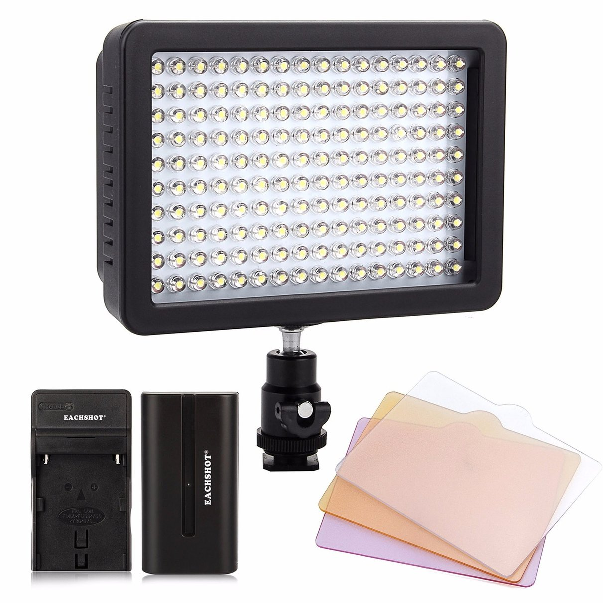 Wansen W160 Led Video Camera Light For Canon Nikon Np F550 Battery Battery Charger The Same With Cn 160 Photo Studio Accessories Aliexpress