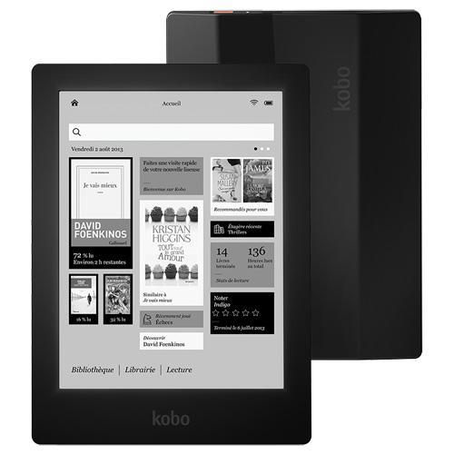 Кобо Аура HD Новый чтения электронных книг 6,8 дюймов 1440x1080 сенсорный экран чтения электронных книг e-ink спереди светильник Электронные книги ...