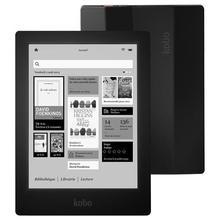Электронная книга Kobo Aura HD, новая читалка с сенсорным экраном 6,8 дюйма 1440x1080, электронные чернила, передний светильник, электронная книга