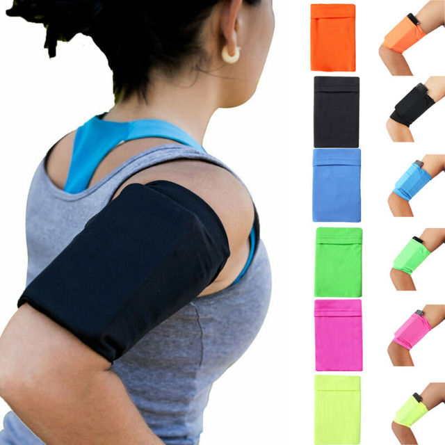 Gym Sports Running Jogging Armband Arm Band Bag Holder Case Cover For Cell Phone Armband 3E26 5