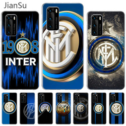 Inter club Case For Huawei P40 P30 P20 Pro P10 lite Mate 30 20 10 Shell Back Silicone Phone Coque Cover