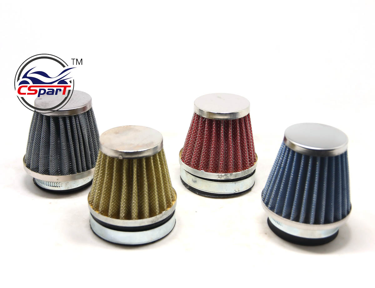 35MM 38MM 40MM 44MM <font><b>54MM</b></font> 58MM <font><b>Air</b></font> <font><b>filter</b></font> Mini Moto Dirt Pit Bike ATV Quad Scooter Buggy Pocket Parts image