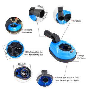 Image 2 - Raizi taladro Universal con cubierta de cubierta para polvo, herramienta para perforación, recolección de polvo, martillo eléctrico rotativo, accesorio para colector de polvo