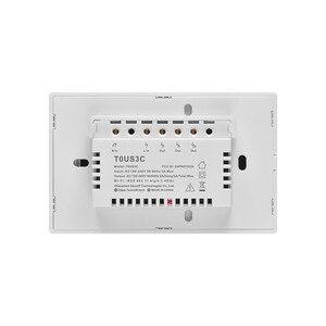 Image 3 - Sonoff T0 T2 T3 Hoa Kỳ Công Tắc Thông Minh WiFi Cảm Ứng Treo Tường Không Dây Thông Minh Hẹn Giờ Đèn Qua Ewelink Ứng Dụng Hoạt Động Với alexa Google Home