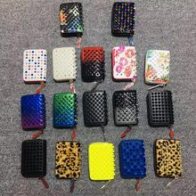 2020 Sale Genuine Leather Women Casual Solid Zipper Factory Direct Europe And The Trend Wild Wind Purse Rivet Bag Couple Models