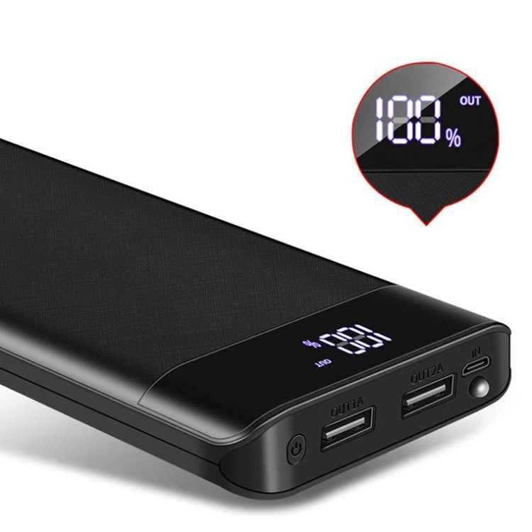 30000 MAh Powerbank Portable Pengisian Poverbank Ponsel Charger Baterai Eksternal Power Bank untuk iPhone Xiaomi Samsung