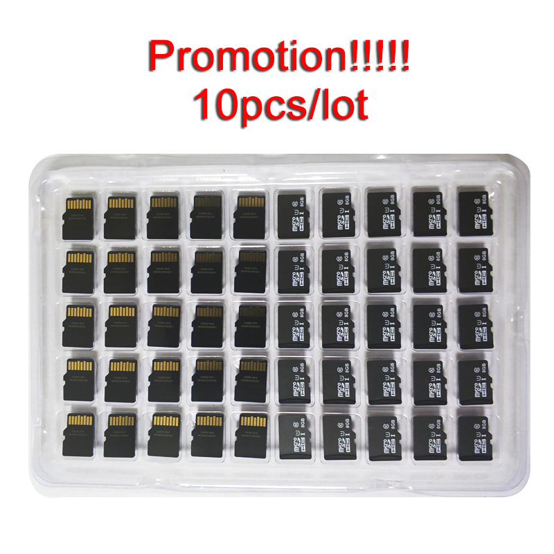 10pcs/lot 1GB 2GB 4GB 8GB Micro Card 64MB 128MB 256MB 512MB TF Card CellPhone Micro Memory Card Memory Card High Quality
