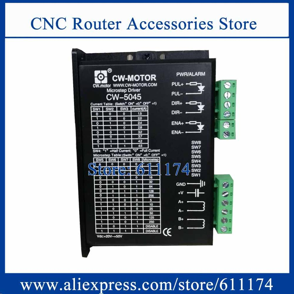 CW5045 4A 24-48VDC 2 phase Stepper Motor driver
