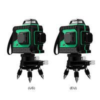 12 Lines 3D Self-leveling Laser Level 360 Horizontal Vertical Instruments High Precision Meter Leveller For Construction Tool