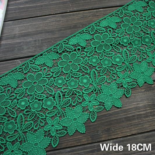 Wholesale Pink Venise 3Yds Lace Fringe Applique Craft DIY Bridal Sewing Trimming