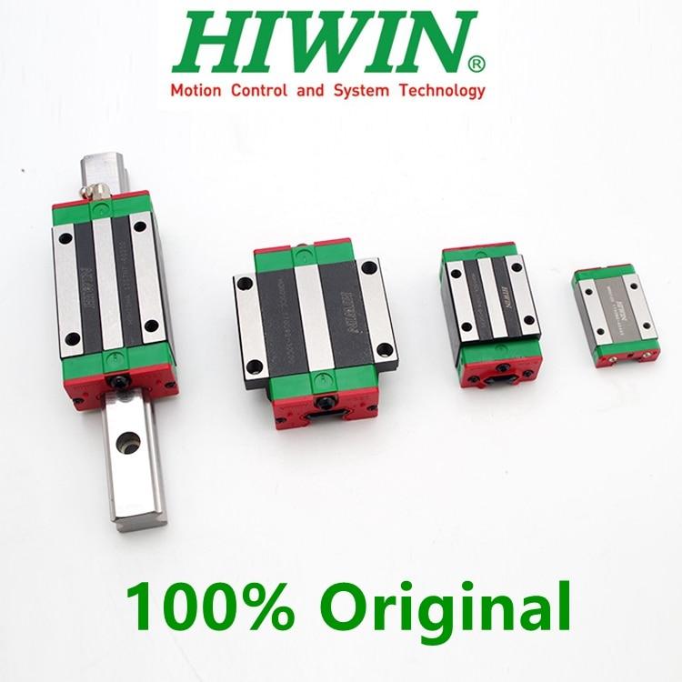 Original HIWIN EGH15CA EGW15CA EGH20CA EGW20CA EGH25CA EGH30CA EGW25CA HGH15CA HGW20CC Linear Block Carriage Match EGR HGR Guide