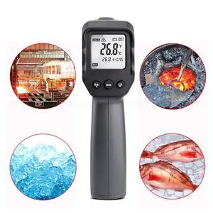 Image 5 - Non contact Infrared Thermometer  50~550/750/1100/1300/1600 degree Max/Min/Dif/Avg Measurement Industrial high temperature Gun