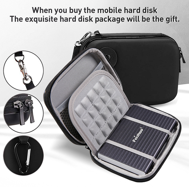 Business Travel Portable device External Hard Drive Storage