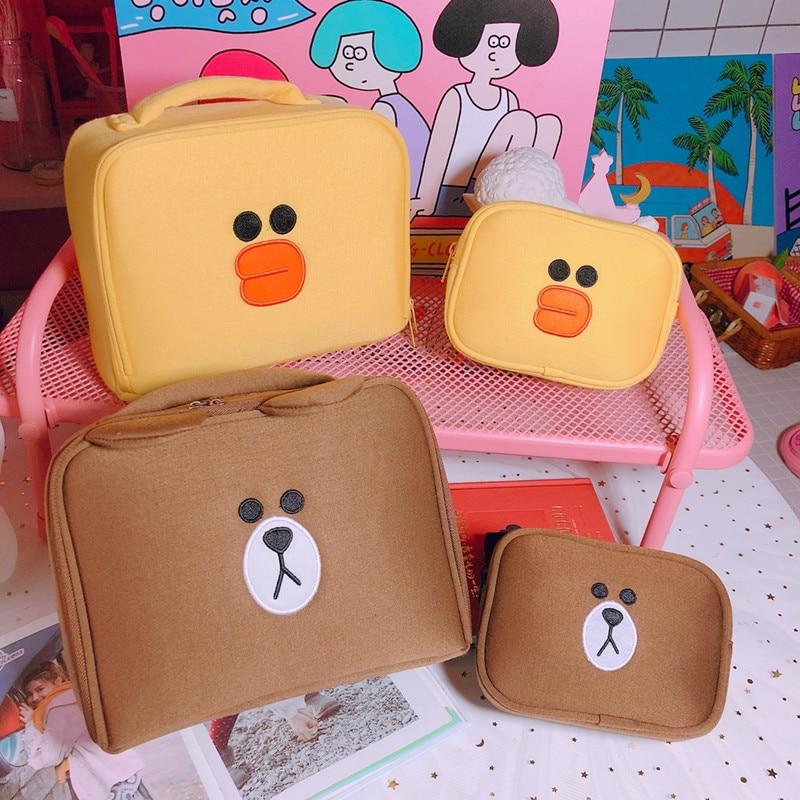 2 pcs/set Women Travel Cosmetic Bag Girls Cute Toiletry Makeup Pouch Multifunction Wash Accessories Supplies Wholesale Case Itemwomen travel cosmetic bagcosmetic bagwholesale cosmetic bag -
