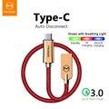 Mcdodo USB кабель для lightning iPhone XS Max XR 8 7 Micro USB Type C кабель для передачи данных Быстрая зарядка для Samsung huawei автоматическое отключение