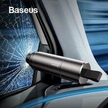 Baseus Мини Автомобильный стеклоподъемник режущий ремень безопасности молоток спасательный молоток режущий нож аксессуары для интерьера