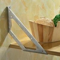 2pcs in acciaio inox di Spessore angolo staffe di 90 gradi ad angolo retto Angolo di ferro di tipo L codice Fisso angolo angolo mobili accessori