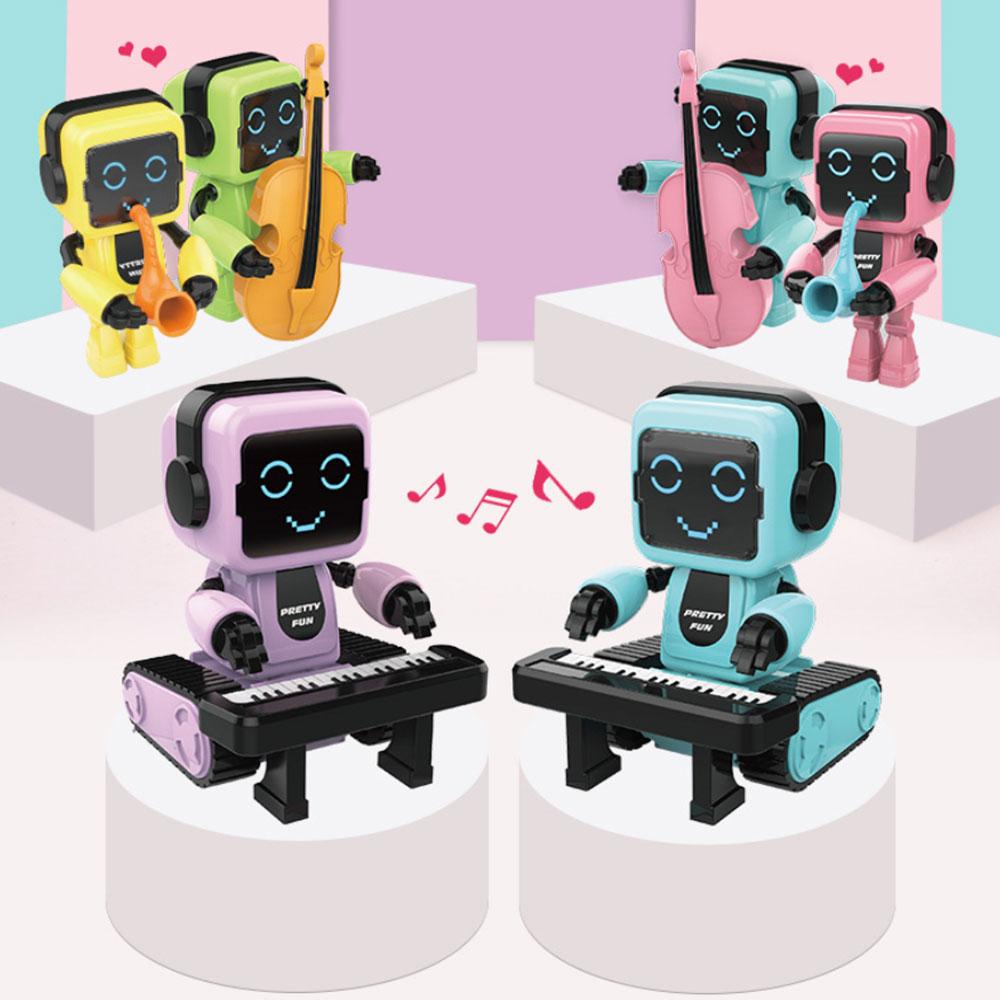 Hi-Fi Speak Robot Toy Talking Interactive Dialogue Voice Recognition Record Singing Dancing Telling Story Mini Intelligent Robot