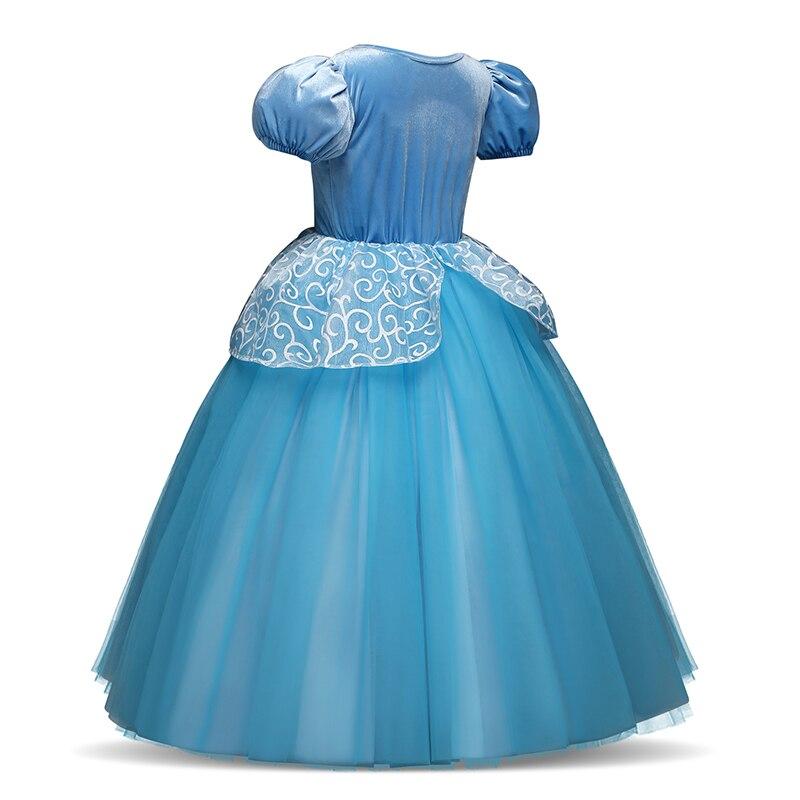 H59a8565ce6e44947bde7aa8a6c12c0a8F Cosplay Queen Elsa Dresses Elsa Elza Costumes Princess Anna Dress for Girls Party Vestidos Fantasia Kids Girls Clothing Elsa Set