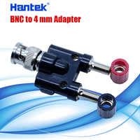 Adaptador profesional BNC a 4mm, dos enchufes de 4mm
