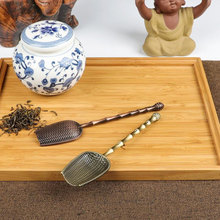 50 шт. чайная ложка, позиционная чайная ложка, лопатка для чайных листьев, держатель, китайский кунг-фу, аксессуары для чая, инструменты NO241