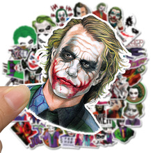 50PCS The Joker Anime Stickers Cartoon Clown Style For Case Laptop Motorcycle Skateboard Luggage Decal Children Toy Sticke F4