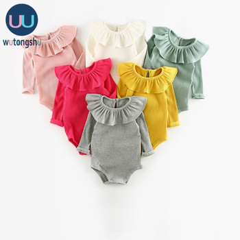 Cute Baby Girl Clothes Autumn Newborn Baby Clothing For Girls Long Sleeve Kids Boys Jumpsuit Knit Baby Girls Rompers Winter jumpsuit lucky child for girls and boys 5 4 0m 12m children s clothes kids rompers for baby