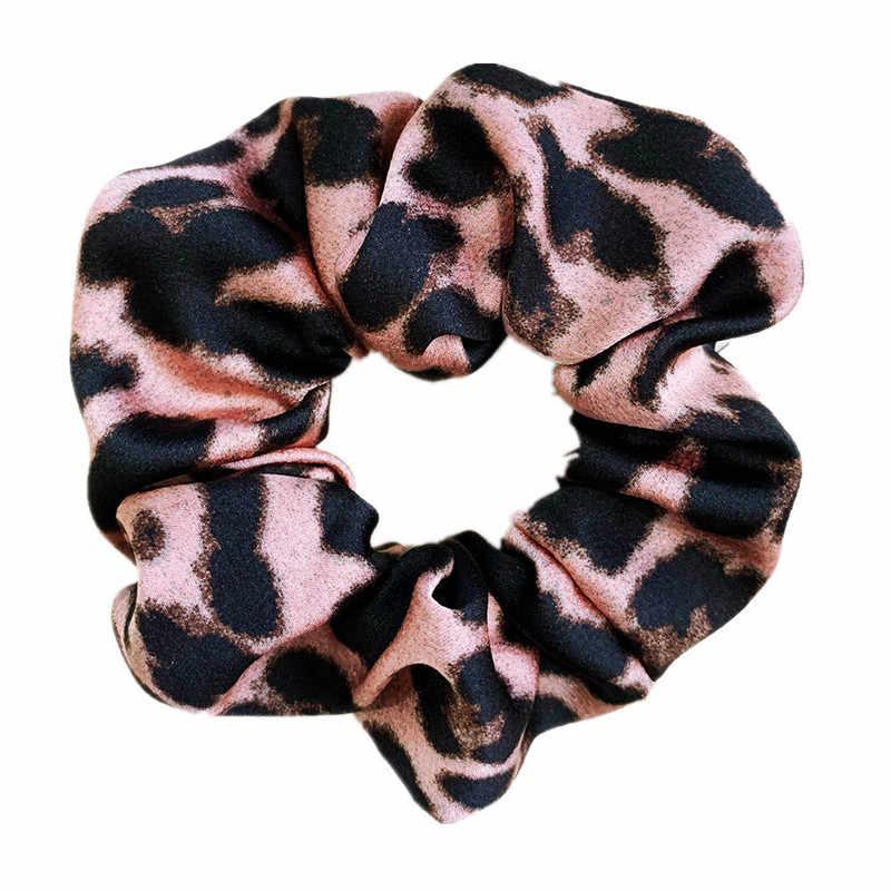 Banda de goma suave para mujer invierno estampado de serpiente accesorios Cola de Caballo niñas anillo de pelo diadema cuerda de pelo mujer terciopelo