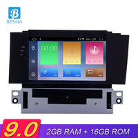 Besina Android 9.0 Car DVD Player For Citroen C4 C4L DS4 2011 2016 Multimedia GPS Navigation Stereo 1 Din Car Radio WIFI Video