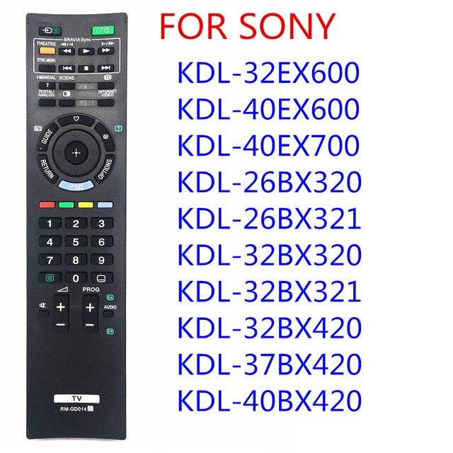 소니 RM GD014 원격 제어 소니 RM GD005 KDL 52Z5500 BRAVIA LCD HDTV TV KDL 46Z4500 55Z4500 46EX500 KDL 26BX320