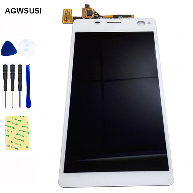 For <font><b>Sony</b></font> <font><b>Xperia</b></font> C4 LCD Screen E5303 E5306 <font><b>E5333</b></font> E5343 E5353 LCD Display Secreen + Touch Screen Digitizer Sensor Glass Assembly image