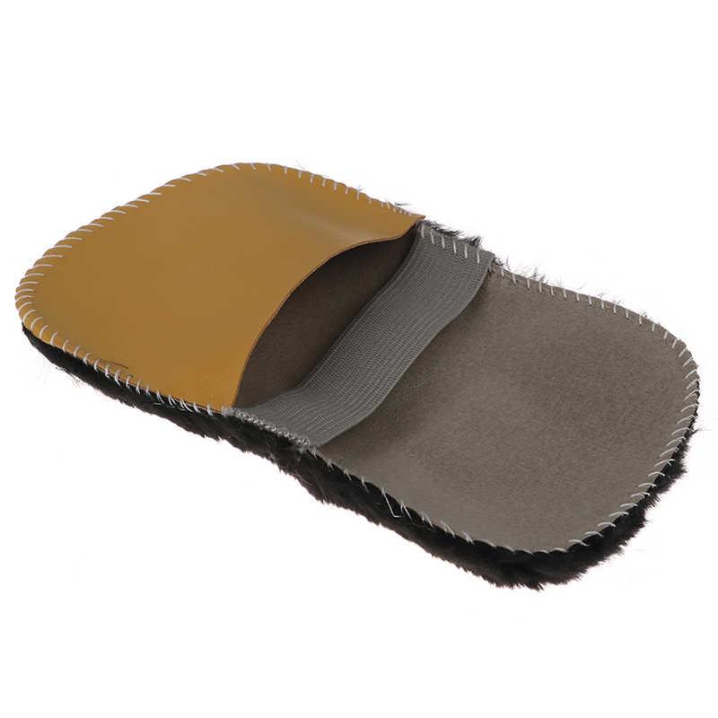 Polijstmachine Reiniging Cleaner Handschoen Borstel Schoen Zorg Schoen Cleaner Schoen Borstel Zachte Faux Wol Doek Schoenen