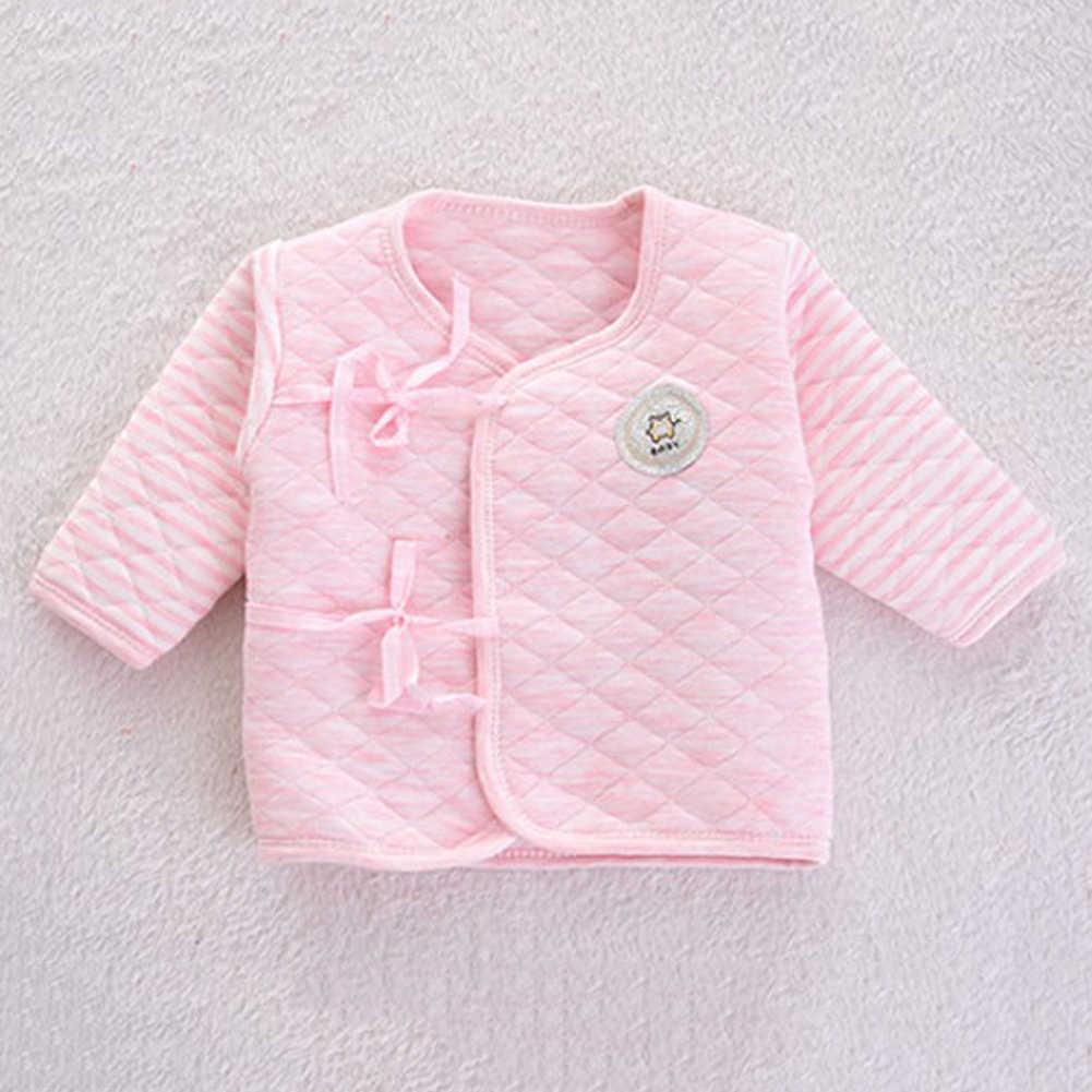 5 Teile/satz Neugeborenen Baby Baumwolle Kleidung Set Infant Baby Mädchen Jungen Warme Verdickung Unterwäsche Anzug Kleinkind Outfit für Neue Geboren geschenke