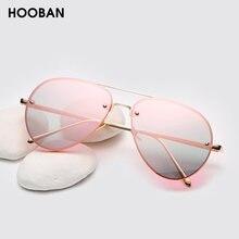 Женские и мужские классические солнцезащитные очки hooban брендовые