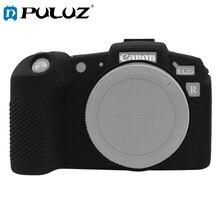 PULUZ Soft ซิลิโคนยางซิลิโคนป้องกันกรณีผิวสำหรับ Canon EOS RP SLR กระเป๋ากล้อง Cover
