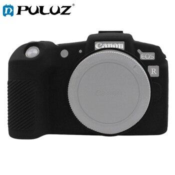 PULUZ мягкая силиконовая резиновая камера защитная обложка, кожаный чехол для Canon EOS RP SLR Камера сумка корпус Защитная крышка