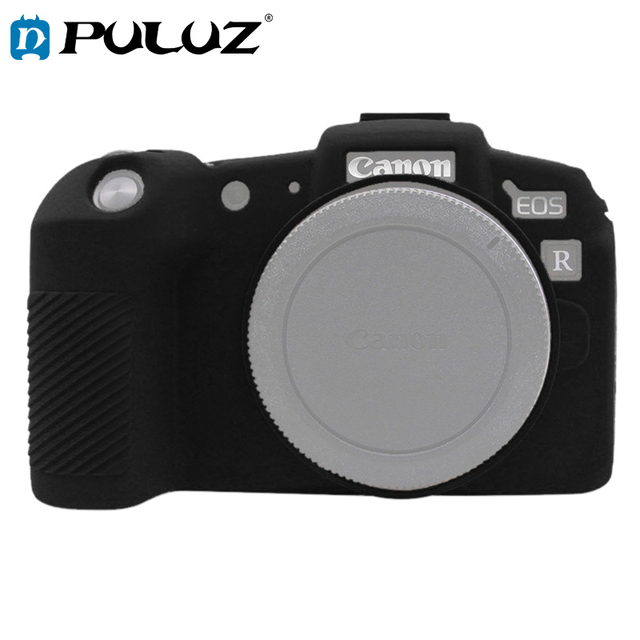 PULUZ Soft Silicone Rubber Camera Protective Body Cover Skin Case  for  Canon EOS RP SLR Camera Bag Housing protector Cover