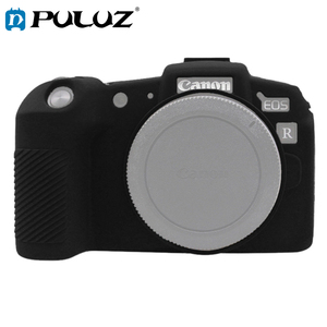 Image 1 - PULUZ Zachte Siliconen Rubber Camera Beschermende Body Cover Skin Case voor Canon EOS RP SLR Camera Tas Behuizing protector Cover