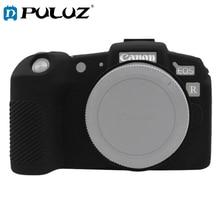 PULUZ لينة سيليكون المطاط كاميرا واقية الجسم غطاء الجلد حالة لكانون EOS RP SLR حقيبة كاميرا الإسكان حامي غطاء