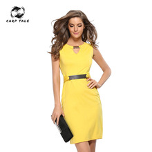 New Dresses Woman Party Night Dress Women Office Wear Elegant Sexy Victoria Beckham Slim Tunic Work Business