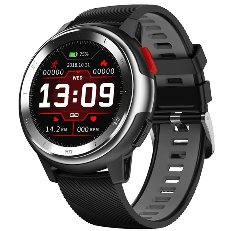 Smart Uhr EKG Fitness Tracker Heart Rate <font><b>Monitor</b></font> Armband Full <font><b>Touch</b></font> Bildschirm Lange Standby Für <font><b>50</b></font> Tage Bluetooth 4,2 Smartwatch image