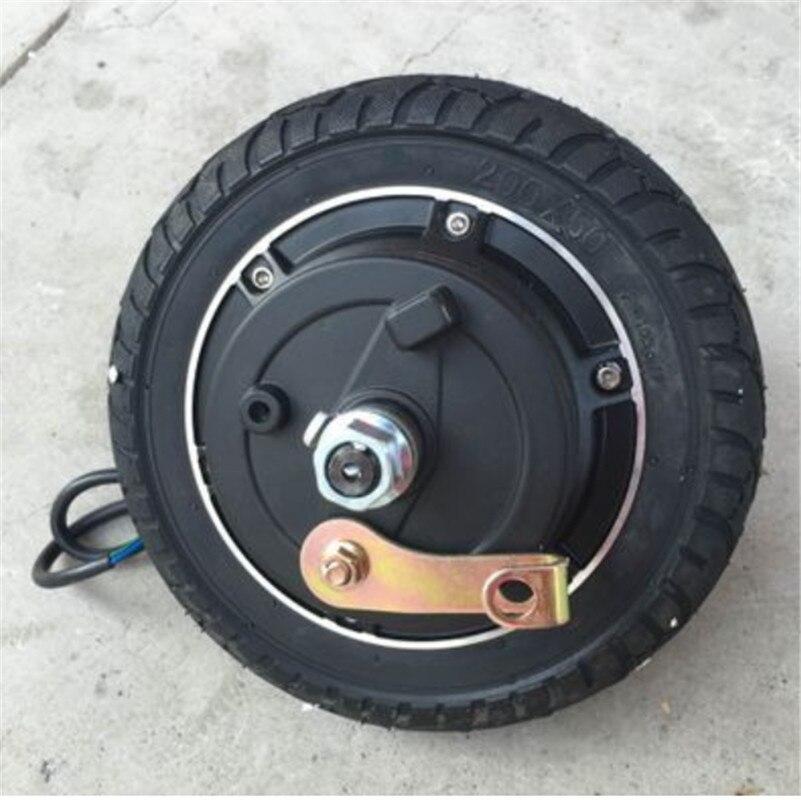 8 inch 24V/36v/48V/350W drum brake wheel motor scooter Motor/Stroller Motor/assembly Vehicle motor Accessories