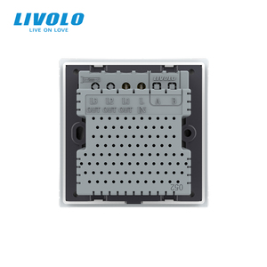 Image 5 - Livolo İngiltere standart 1way duvar işık uzaktan dokunmatik anahtarı, cam Panel, uzaktan kablosuz kontrol anahtarları, hayır wifi fonksiyonu