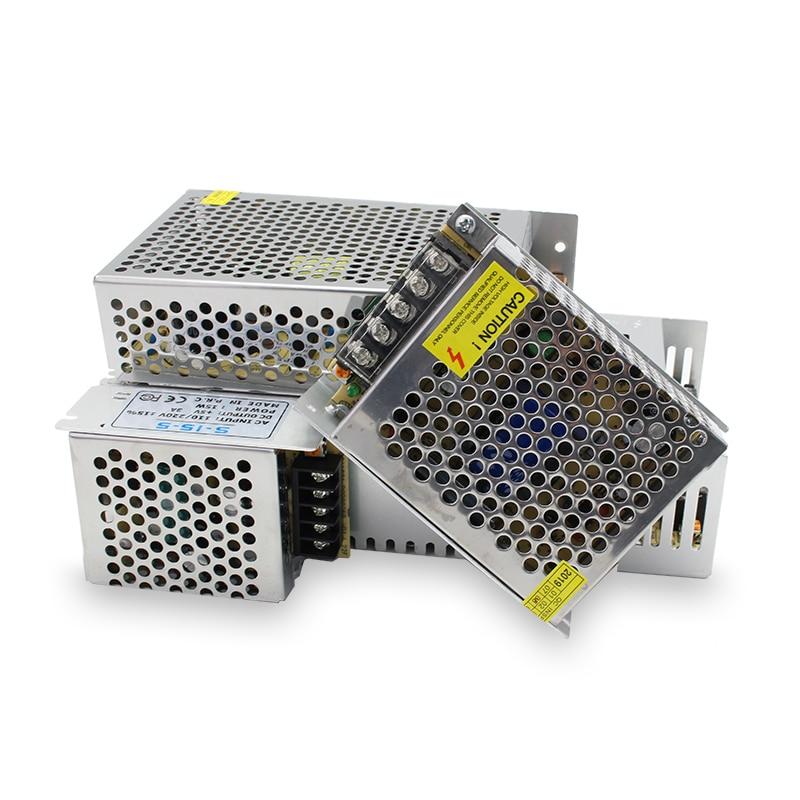 Alimentation électrique à découpage 110V 220V, cc vers 5V, 12V, 24V, 48 V, Source AC-DC, SMPS, 5, 12V, 24V, 48 V, SMPS
