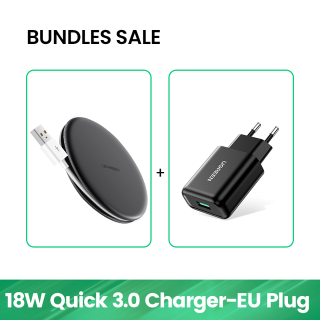 With QC3.0 Charger