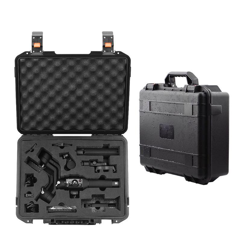 Sac de rangement antichoc étanche sac à main mallette de voyage organisateur de protection valise pour accessoires DJI ronin-sc